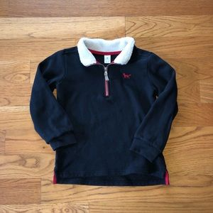 Boys size 7 Carter's pull over